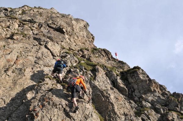 Klettersteige Kitzbüheler Horn, St. Johann in Tirol