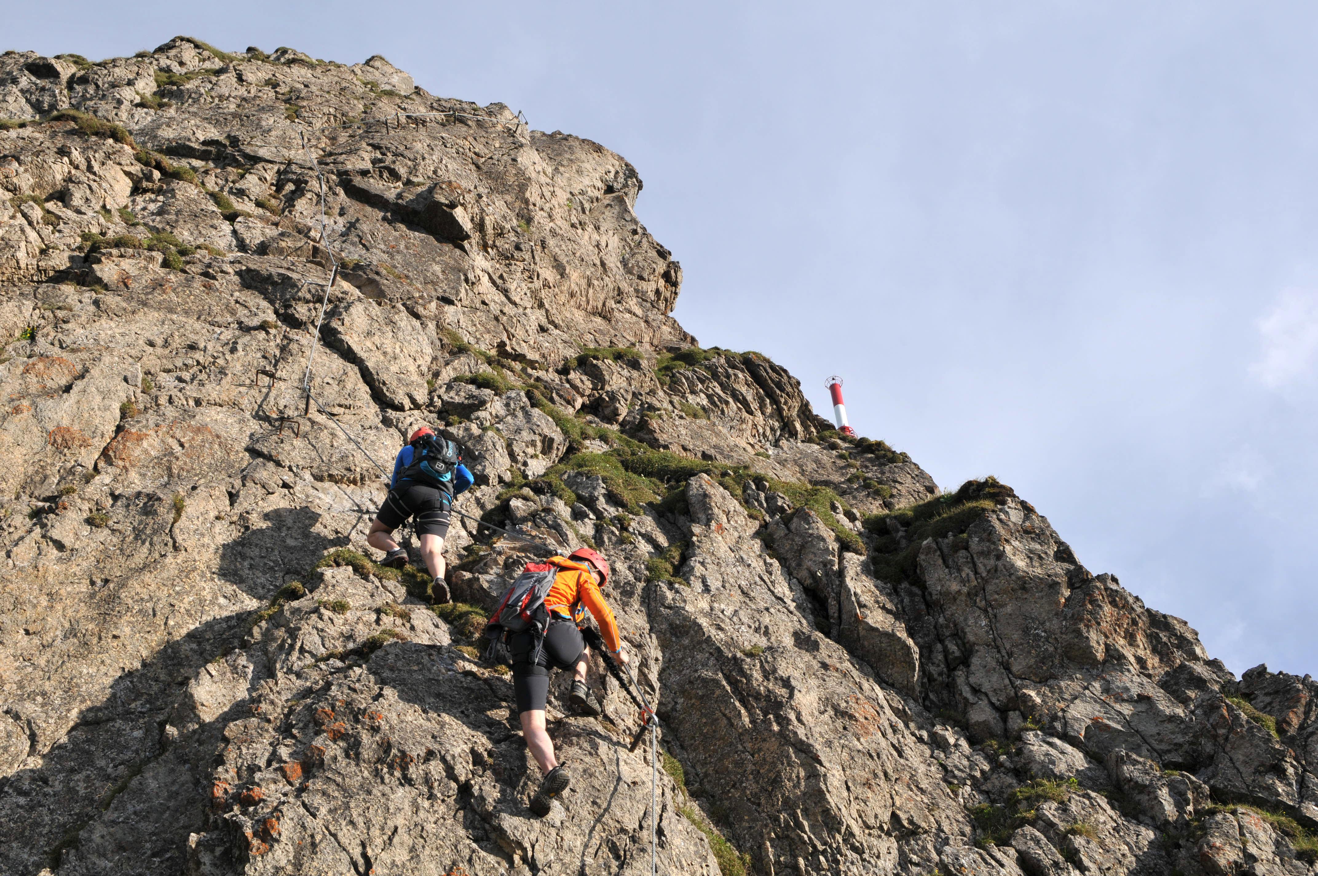 Klettersteig Kitzbüheler Horn : Klettersteige kitzbüheler horn st. johann in tirol